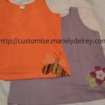 Customização de Camiseta com Aplique de Tecido