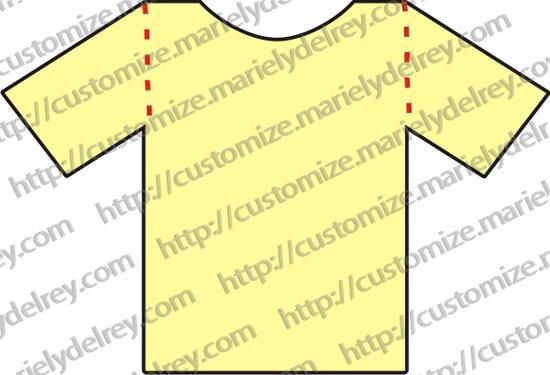 cb065b0c94 10 tipos de cortes para customizar uma camiseta