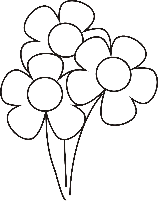 Diferentes modelos de flores para imprimir - Imagui