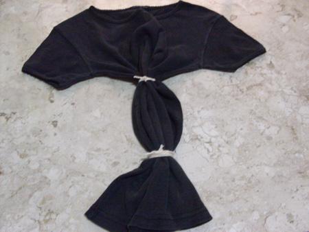 Técnica do Falso Tie Dye - Customização de Camiseta