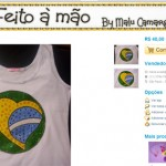 3 camisetas customizadas para a Copa + 1 chinelo