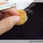 Customizando uma blusa de um jeito fácil