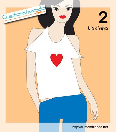 Blog de makebeleza : COISAS DE MULHER, customizaçao de camiseta