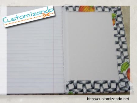 Customização de Caderno