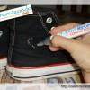 Customizando meu All Star preto