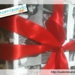 Customize uma embalagem de presente
