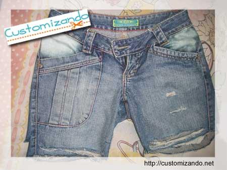 Transformar jeans em shorts ou bermuda