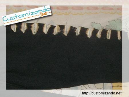 Customizando - Customização de Calça Jeans