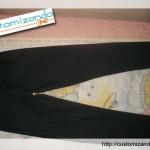 Customização de calça jeans