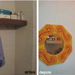 Customização de Azulejo com Adesivo