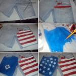 Ideias para estampar shorts jeans