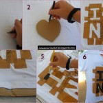 DIY Camiseta I Love NY