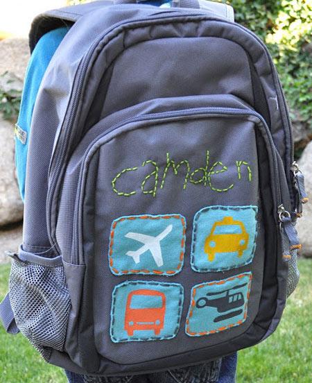 Customização de mochila