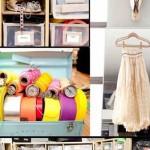 O closet/ateliê de Érica Domesek, do blog Ps. I made this