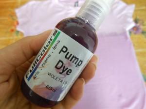 Customização de blusinha com Pump Dye
