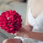 Inspiração: buquê de noiva em feltro