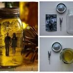 Nova vida para: vidros de conserva