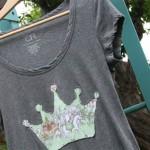Camiseta com coroa