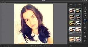 customizar fotos com Fotor