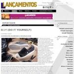 Customizando é destaque na revista Lançamentos