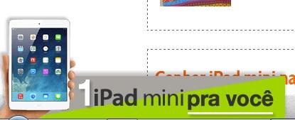 ipad-mini-gratis-sorteio