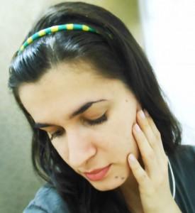 DIY Como fazer tiara verde e amarelo