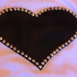 Customizando blusa ou camiseta com coração