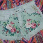 Ideias para customizar short jeans (do nosso grupo no Facebook)