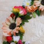 Como fazer guirlanda de flores