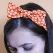 DIY como fazer faixa de cabelo com laço