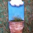 DIY Como fazer vaso de planta com nuvem