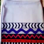 Como customizar saia étnica