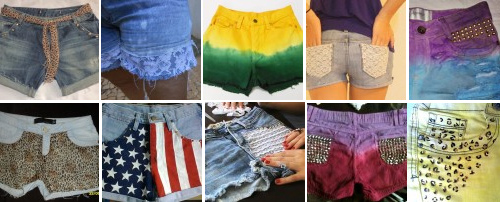 5 dicas mais procuradas no Customizando - shorts