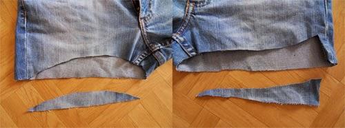 Como customizar short com bordado inglês