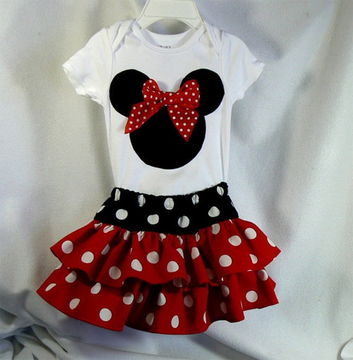 Inspiração: Minnie Mouse - vestido