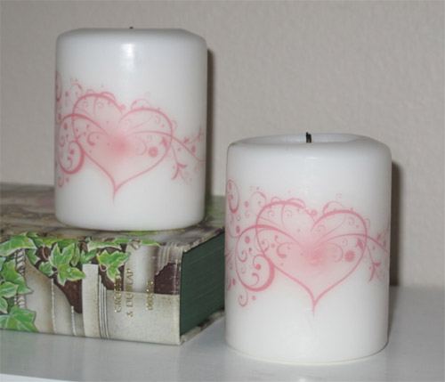 Como customizar vela