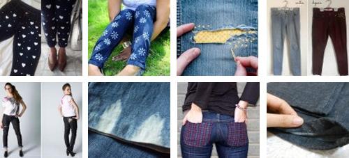5 dicas mais procuradas no Customizando - calça