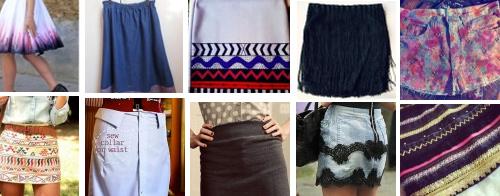 5 dicas mais procuradas no Customizando - saias