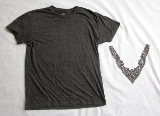 Como cortar decote V em camiseta e deixar mais feminina