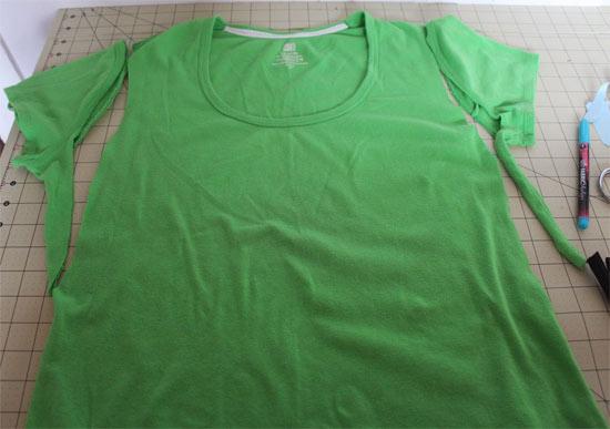 Como customizar camiseta para usar na academia