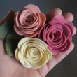 Como fazer rosas de feltro