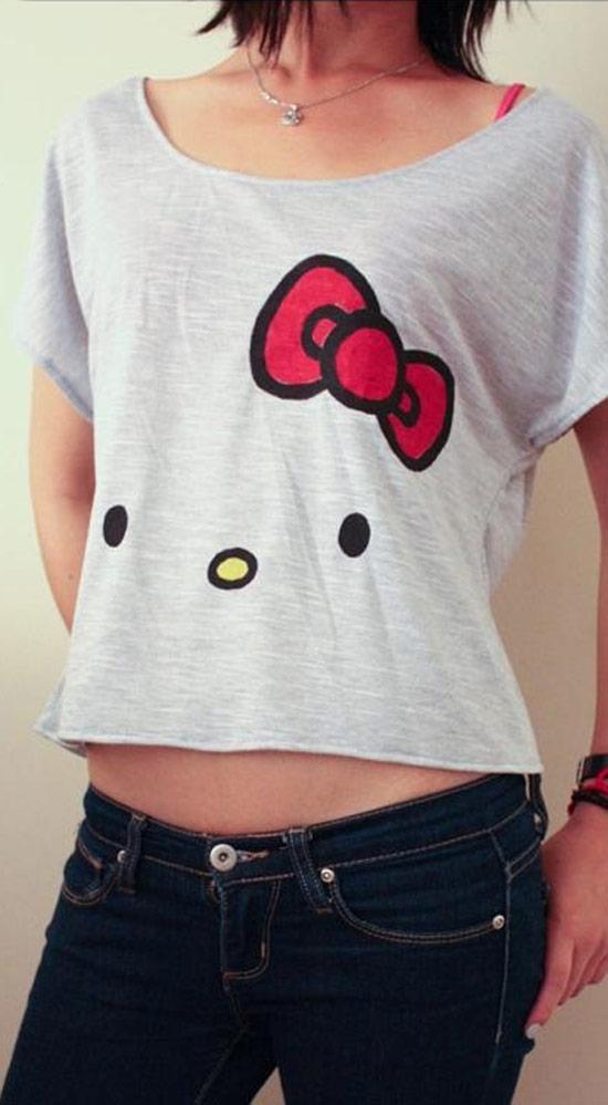 Inspiração Hello Kitty - camiseta