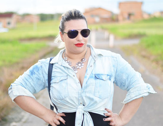 DIY customizar camisa jeans