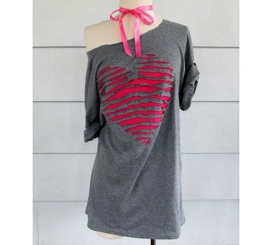 Inspiração coração - camiseta