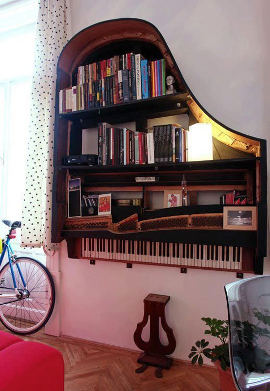Nova vida para piano de cauda
