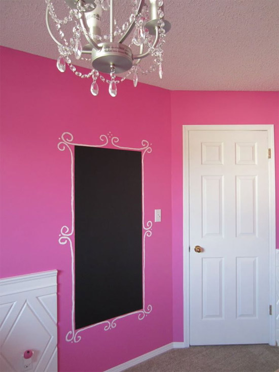 Inspiração: decoração - parede de lousa