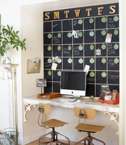 Inspiração: decoração parede lousa