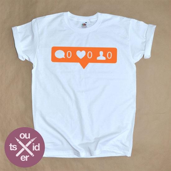 Inspiração: Instagram - camiseta