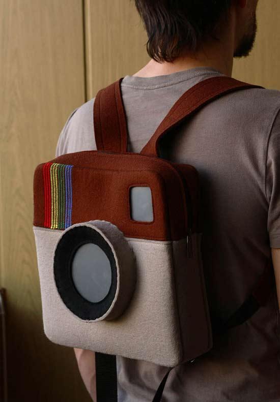 Inspiração: Instagram - mochila
