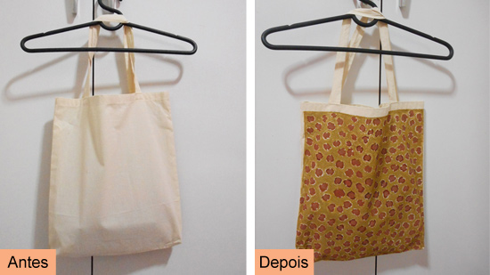 Como customizar ecobag com estampa de oncinha